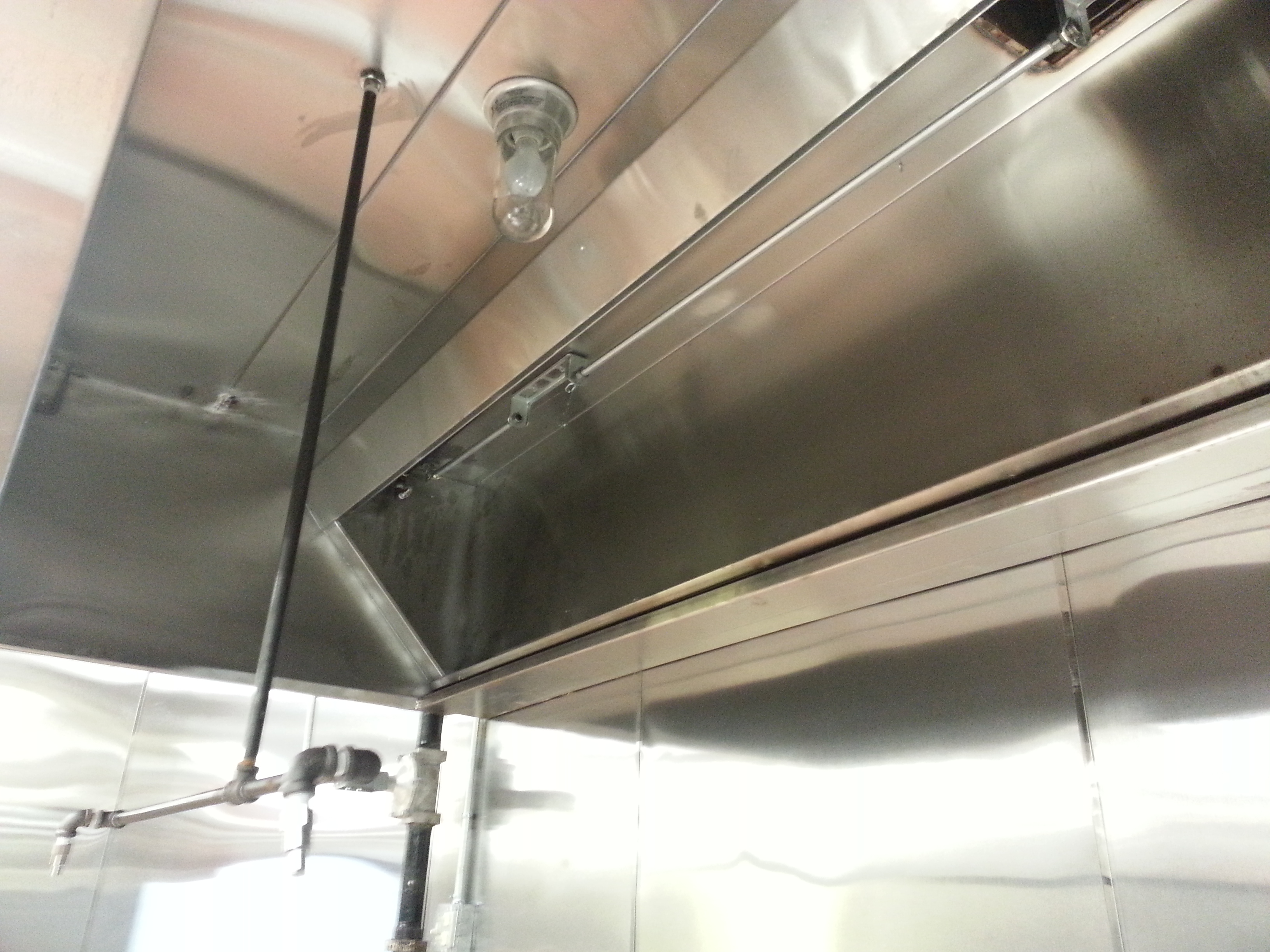 Commerical Vent Hood Installation Services Kitchen Fire System