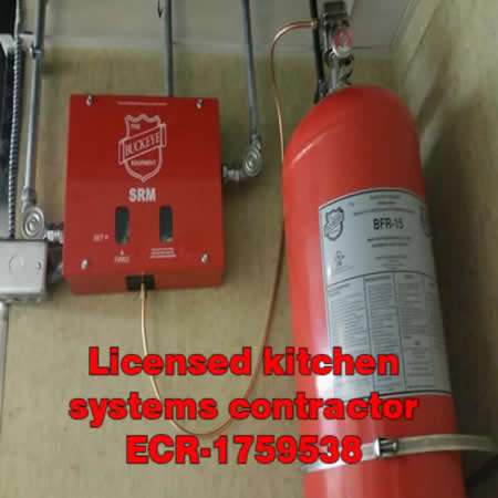 Kitchen Hood Fire Suppression | Ansul Fire Systems Sales Service and ...