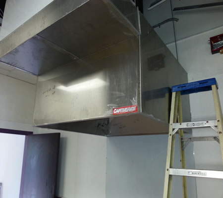 Commercial kitchens Exhaust Hood Fire System Installations ...