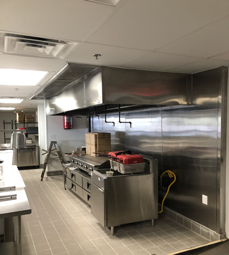 Commercial Vent Hood Installation Service