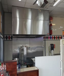 Commercial Vent Hood Installation Service - Dallas Fort Worth TX