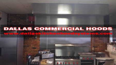 kitchen exhaust vent hood system
