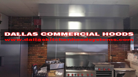Commercial Vent Hood Installation Service - Commercial