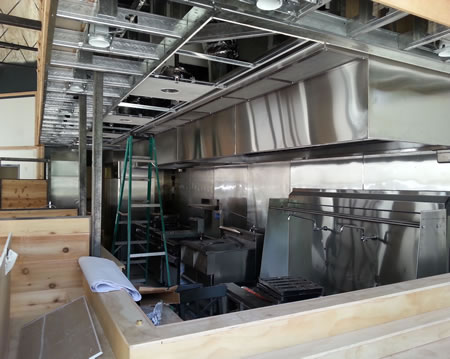 Commercial kitchen exhaust ventilation hood manufacturer - Commercial kitchen vent hood designs ...