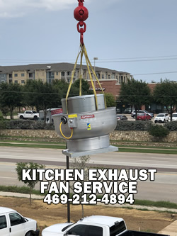 Kitchen Exhaust Fans And Make Up Air Unit Near Me In