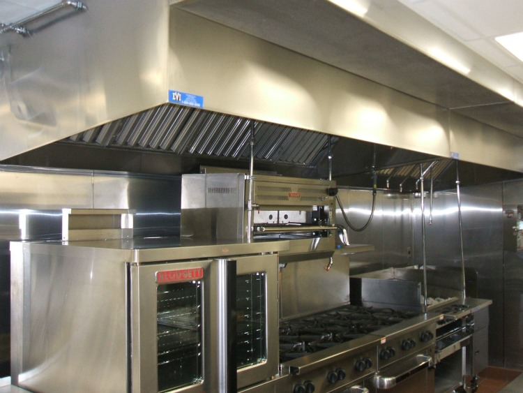 Kitchen Ventilation Systems : Commercial kitchens exhaust hood fire system installations